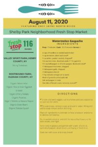 Fresh Stop Markets Food Recipes 8/11-13/2020