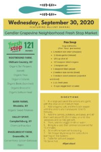 Read more about the article Fresh Stop Markets Food Recipes of 9/29-10/02/2020
