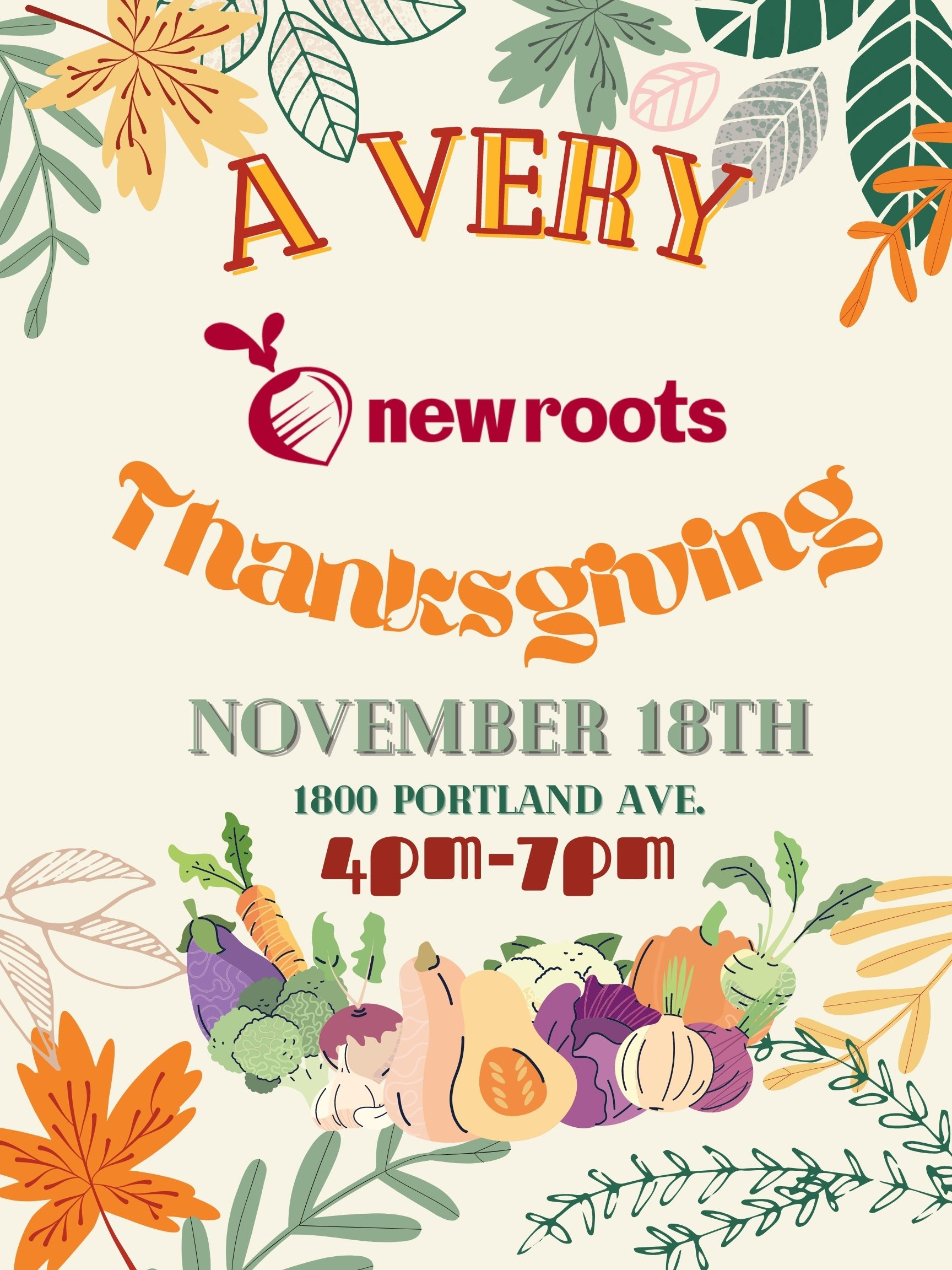 You are currently viewing A Very New Roots Thanksgiving